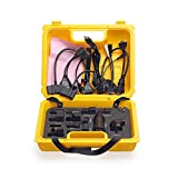 Launch X431 yellow case with full set cables for X431 Diagun IV/Pro Mini//Diagun III/X-431 IV / V/ V+ /PRO