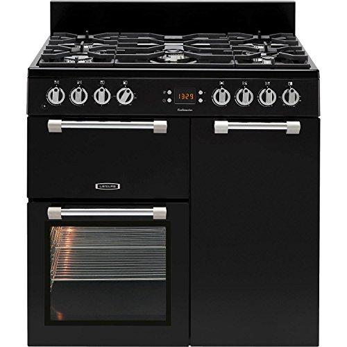Leisure CK90G232K Cookmaster 90cm Gas Range Cooker Black
