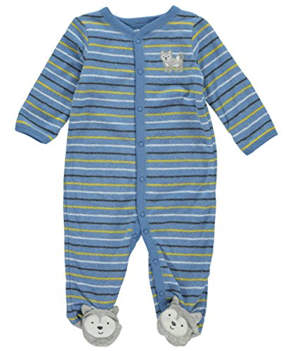 carters-baby-boys-husky-dog-terry-coverall-blue-3-months