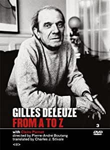 Gilles Deleuze from A to Z