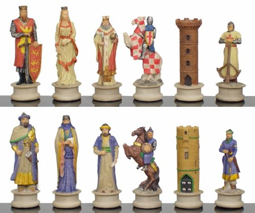 Buy cheap large crusades iii theme chess set toys - Inexpensive chess sets ...