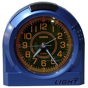 CASIO 10783 TQ-397-B-2S - Reloj Despertador analógico celeste por CASIO
