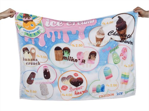 Weegoamigo - Adventure Blanket - Ice-creams - 1