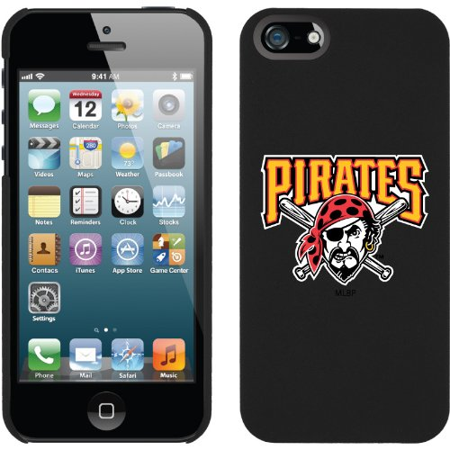 Special Sale MLB Pittsburgh Pirates iPhone 5 Snap-On Case - Black