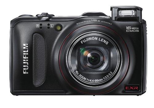 Fujifilm FinePix F550 Digital Camera - Black (16MP, 15x Optical Zoom) 3-inch LCD