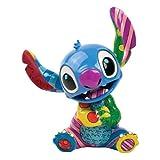 Disney 4030816 Stitch Figurina Resina, Design di Romero Britto, 20 cm