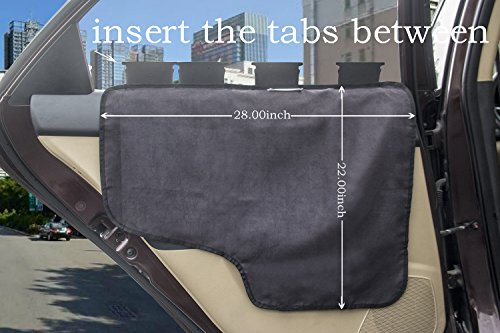 Pet Car Door ... & Pet Car Door Cover Car Back Seat Door Protector for Dog E-JOY [2 ... Pezcame.Com