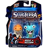 Slugterra Mini Figure 2-Pack Rocky & Buzzsaw [Includes Code for Exclusive Game Items] by Slugterra Toys, Games & Dart Mini Action Figures