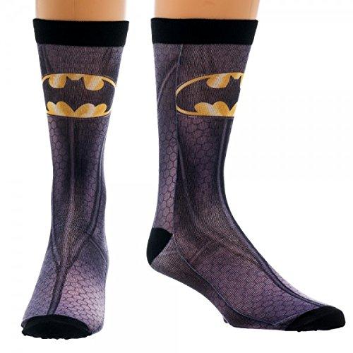 Calze, motivo: Batman, Carattere Sublimated nuovo ufficiale cr2e76btm