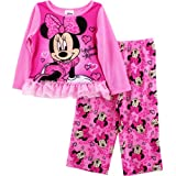 Minnie Mouse Girls 2-6X 2 Piece Sleep Set