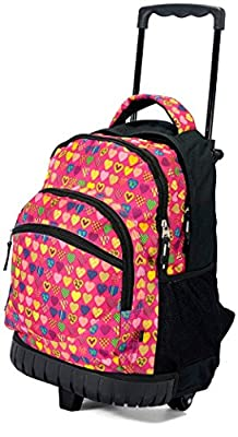 Wheeled Backpack School Bag Holiday Hand Luggage Girls Boys by Benzi