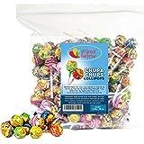 Chupa Chups Classic Lollipops Assorted Flavors, 3 LB Bulk Candy