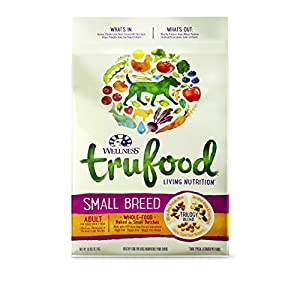 Wellness TruFood Baked Nuggets Natural Grain Free Dry Dog Food, Small Breed Chicken, Chickpeas and Chicken Liver Recipe, 10-Pound Bag