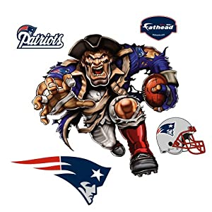 Fathead NFL New England Patriots Powerhouse Patriot Wall Graphic by Fathead