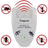 Trapest Ultrasonic Electro Magnetic Indoor Pest Control, Rodent and Insects Repellent