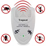 Trapest Ultrasonic Electro Magnetic Indoor Pest Control, Rodent and Insects Electromagnetic Electronic Repellent