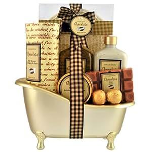 Gloss! Coffret Baignoire de Bain Chocolat (7 produits de bain)
