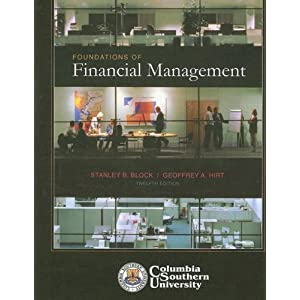 Foundations of Financial Management Stanley B. Block
