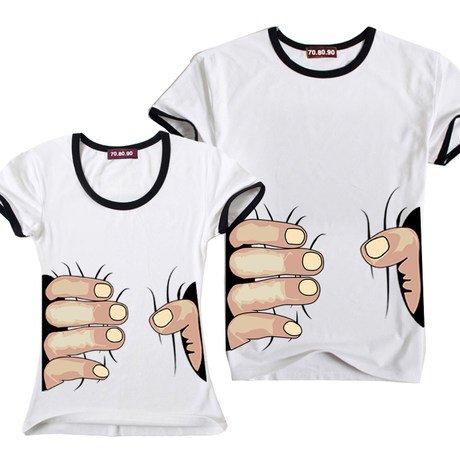 ズシンズシン…食い尽くされる恐怖 Tシャツ (M, 白×黒)