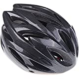 Anself 18 Vents Ultralight Integrally-molded Sports Cycling Helmet with Visor Mountain Bike Bicycle Adult