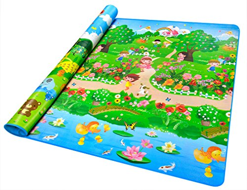 Buy Lifemall 200*180*0.5cm Thickness Baby Crawling Mat Baby Crawling Pad/ Game Mat (D)