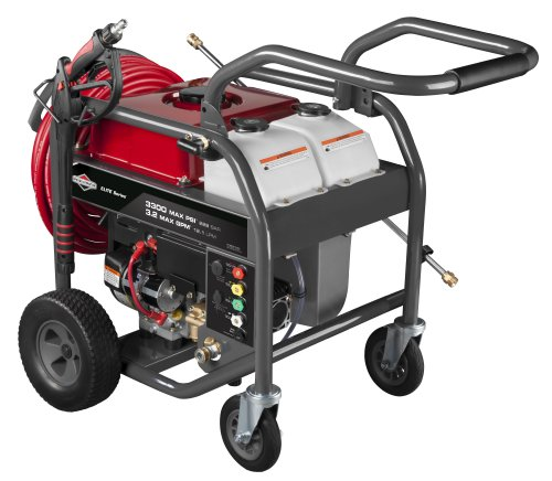 Briggs & Stratton 20542 Elite Series 3.2-Gpm 3300-Psi Gas Pressure Washer With 1150 Series Ohv 250Cc Engine And Electric Key Start, Engine Oil Included front-609651