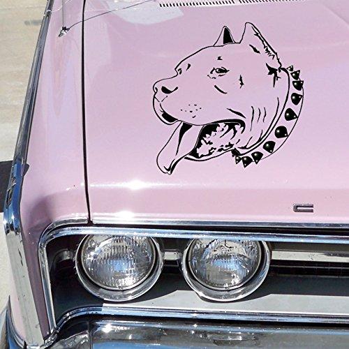 Pitbull Luxus Auto Aufkleber mit Kristallen von SWAROVSKI ...