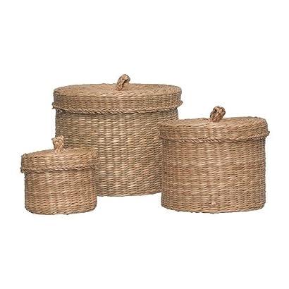 Ikea Ljusnan Boîte Avec Couvercle Lot De 3 Les Herbiers