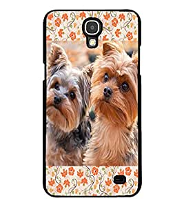 ColourCraft Cute Puppies Design Back Case Cover for SAMSUNG GALAXY MEGA 2