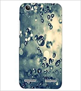 PrintDhaba Droplets D-2215 Back Case Cover for LENOVO A6020a46 (Multi-Coloured)