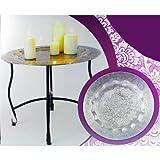 Beistelltisch-Orient-50x40cm-Tisch-Teller-mit-Ornamenten