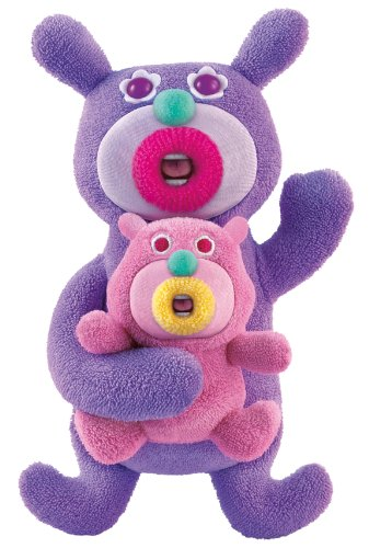 THE SING A MA JIGS DUETS SINGS HALO MA BABY PURPLE SINGING TALKING SOFT TOY NEW
