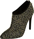 Just Cavalli Women Night Out Leather Ankle Boot