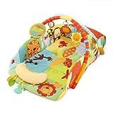 Bright Starts Babys Play Place Playmat, Swingin Safari