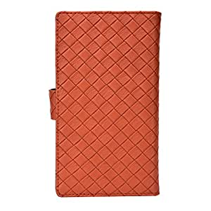 Jo Jo Cover Bali Series Leather Pouch Flip Case For Spice Smart Flo Pace 2 Brown