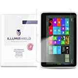 iLLumiShield - Dell XPS 12 Crystal Clear Screen Protectors with Anti-Bubble/Anti-Fingerprint - 2-Pack + Lifetime Replacements