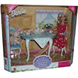 1999 Barbie Doll Tea Time gift set with her friends, lil bear and cozy bunny