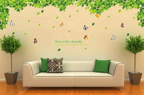 Ufingodeco uccelli di amore romantico photo frame adesivi murali ...