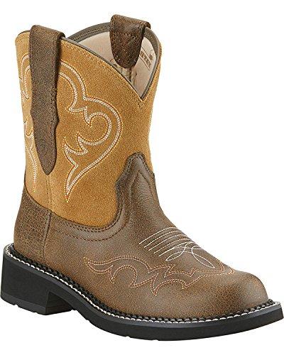 Ariat Fatbaby Boots Womens Heritage Harmony Stitch Tan 10015