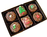 Chocolate Rice Krispie and Oreo Christmas Gift Box