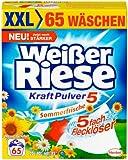 Weißer Riese KraftPulver Sommerfrische, 1er Pack (1 x 65 Waschladungen)