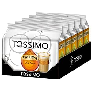 Tassimo Twinings Chai Latte 5x8 Portionen