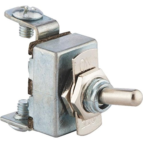 GB Electrical 41700 Nickel Toggle Switch-2-POSITION TOGGLE SWITCH