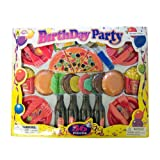 Agglo Birthday Party Pizza and Burger Set 36 Pieces