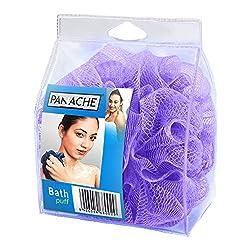 Panache Bath Loofah, Lilac Purple