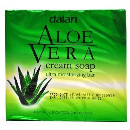Aloe Vera Cream Soap Ultra Moisturizer Conditioning 9.52 Oz