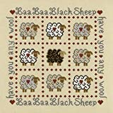Baa Baa Black Sheep Sampler Cross Stitch Kit
