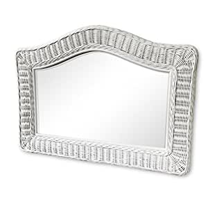 Amazoncom wicker mirror