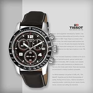 Amazon.com: Tissot T0394171605700 Watches, Mens Tissot V8 Chronograph