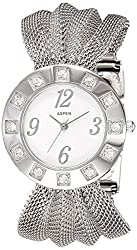 Aspen Feminine Exclusive Analog White Dial Womens Watch - AP1102